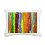 Paint Colors Rectangular Canvas Pillow