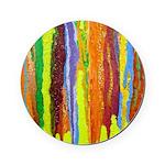 Paint Colors Cork Coaster