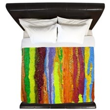 Paint Colors King Duvet