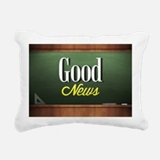 Good New Rectangular Canvas Pillow