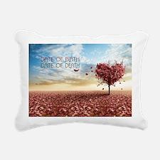 Date Of Birth... Rectangular Canvas Pillow