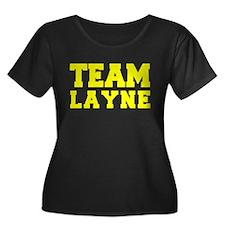 TEAM LAYNE Plus Size T-Shirt