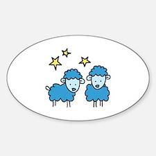 Star Sheep Decal