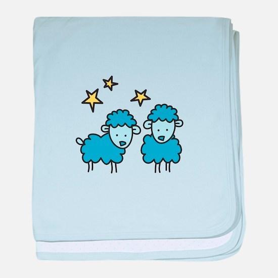 Star Sheep baby blanket