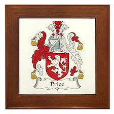 Price (Wales) Framed Tile