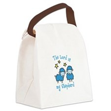 The Lord is my shepherd Canvas Lunch Bag