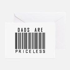 Dads Are Priceless Greeting Cards (Pk of 10)