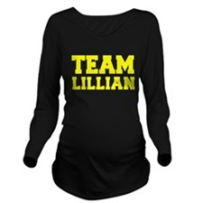 TEAM LILLIAN Long Sleeve Maternity T-Shirt
