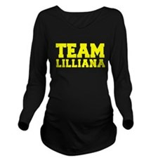 TEAM LILLIANA Long Sleeve Maternity T-Shirt
