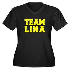 TEAM LINA Plus Size T-Shirt