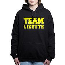 TEAM LIZETTE Women's Hooded Sweatshirt