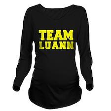 TEAM LUANN Long Sleeve Maternity T-Shirt