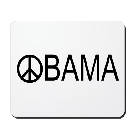 OBAMA PEACE Mousepad