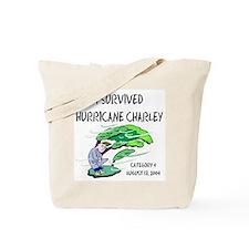 I Survived Hurricane Charley Tote Bag