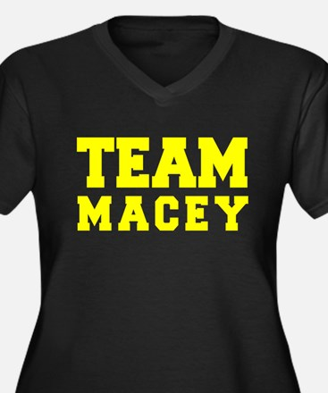 TEAM MACEY Plus Size T-Shirt