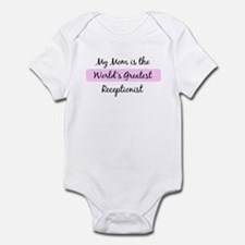 Worlds Greatest Receptionist Infant Bodysuit
