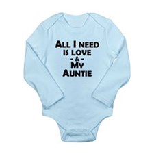 Love And My Auntie Body Suit