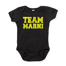 TEAM MARNI Baby Bodysuit