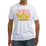 Buff Chantecler Hearts Fitted T-Shirt