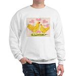 Buff Chantecler Hearts Sweatshirt