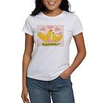 Buff Chantecler Hearts Women's T-Shirt