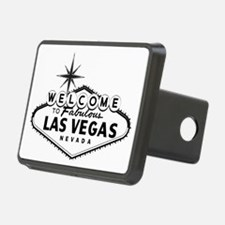 Welcome To Las Vegas Sign Hitch Cover