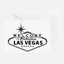 Welcome To Las Vegas Sign Greeting Cards