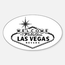 Welcome To Las Vegas Sign Decal