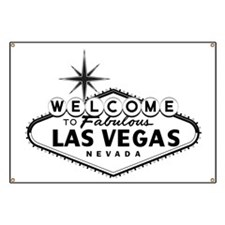 Welcome To Las Vegas Sign Banner
