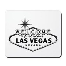 Welcome To Las Vegas Sign Mousepad