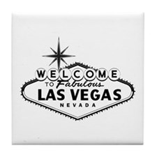 Welcome To Las Vegas Sign Tile Coaster