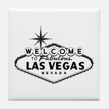 Welcome To Las Vegas Sign Tile Coaster