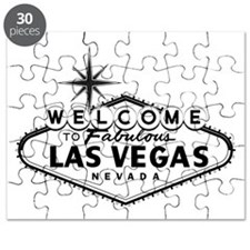 Welcome To Las Vegas Sign Puzzle