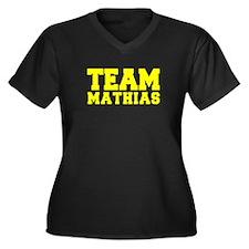 TEAM MATHIAS Plus Size T-Shirt