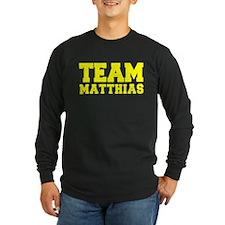 TEAM MATTHIAS Long Sleeve T-Shirt