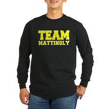 TEAM MATTINGLY Long Sleeve T-Shirt