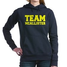 TEAM MCALLISTER Women's Hooded Sweatshirt