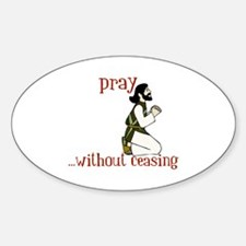 Pray ... Without Ceasing Decal