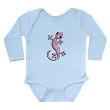 Pink Paisley Long Sleeve Infant Bodysuit