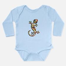 Jelly Beans Long Sleeve Infant Bodysuit
