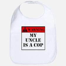 Warning My Uncle Is A Cop Bib