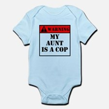 Warning My Aunt Is A Cop Body Suit