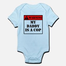 Warning My Daddy Is A Cop Body Suit