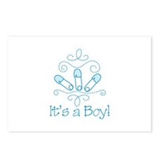 Its A Boy Postcards (Package of 8)