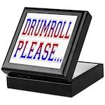 Drumroll Please Keepsake Box