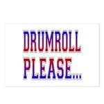 Drumroll Please Postcards (Package of 8)