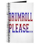 Drumroll Please Journal