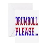 Drumroll Please Greeting Cards (Pk of 10)