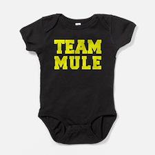 TEAM MULE Baby Bodysuit