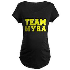 TEAM MYRA Maternity T-Shirt